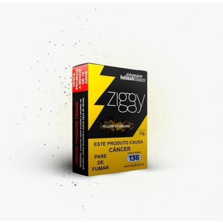 Ziggy Yellow Starburst 50g