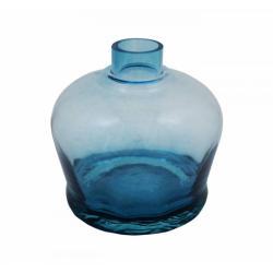 Vaso Luna Pump azul transparente
