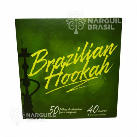 Alumínio Brazilian Hookah 50 Folhas.