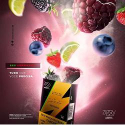 Ziggy Red Lemonade 50g