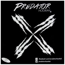 Alumínio Predator Hookah 50fls